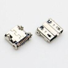 Socket-Tail-Plug 11pin-Connector Micro-Usb 100pcs for Samsung Galaxy S4 I9500 I9502/I9505/N7100/..