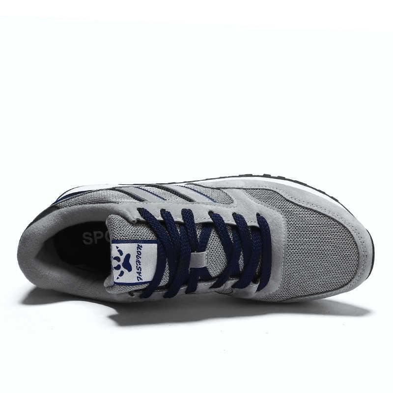 2020 frühling Mode Männer Sneaker Schuhe Mesh Atmungsaktiv Casual Schuhe Lauf Flache Schuhe der Männer Leichte Turnschuhe Luxus Marke 45