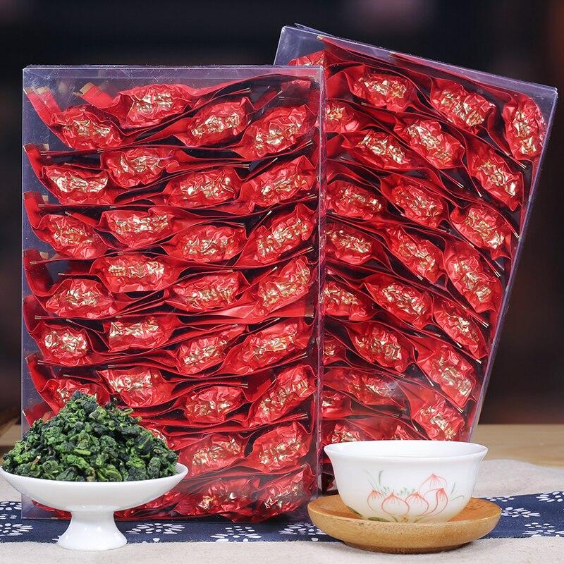 Small Bag Packagin China Anxi Tiekuanyin Tea Fresh 1275 Organic Oolong Tea For Weight Loss Tea Health Care Beauty Green Food