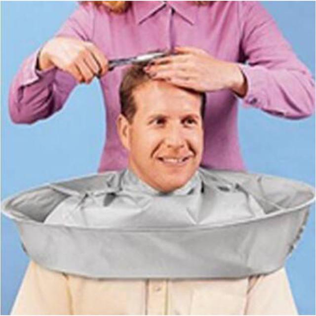 Haircut Cape Umbrella Shaving Apron Hair Cover Barber Gown