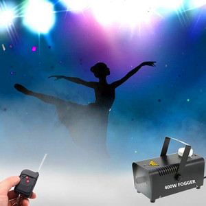 Image 5 - 400W Fog Machine For Halloween Party Wedding Stage Effect Wire Or Wireless Remote Control Mini Fog Machine Fogger Smoke Ejector