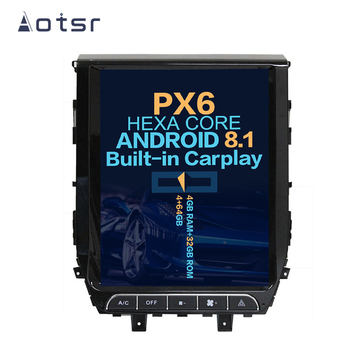 """Aotsr 12.1""""  Vertical screen Android 8.1 Car DVD Multimedia player GPS Navigation For Toyota Land Cruiser LC 200 2016-2018"""