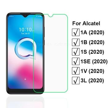 2-1PCS Tempered Glass For Alcatel 1S 1V 3L 1SE 2020 Screen Protector Protective Glass for Pelicula Alcatel 1A 1B 2020 Case Vetro