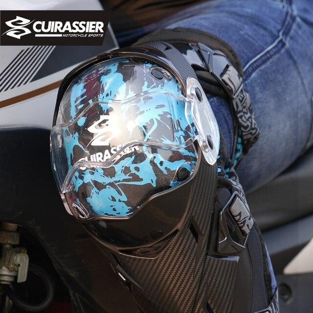 Cuirassier-coudières Protection Motocross   Genouillères de Protection pour moto vtt tout-terrain MX, Protection contre la saleté, genouillère pour vélo