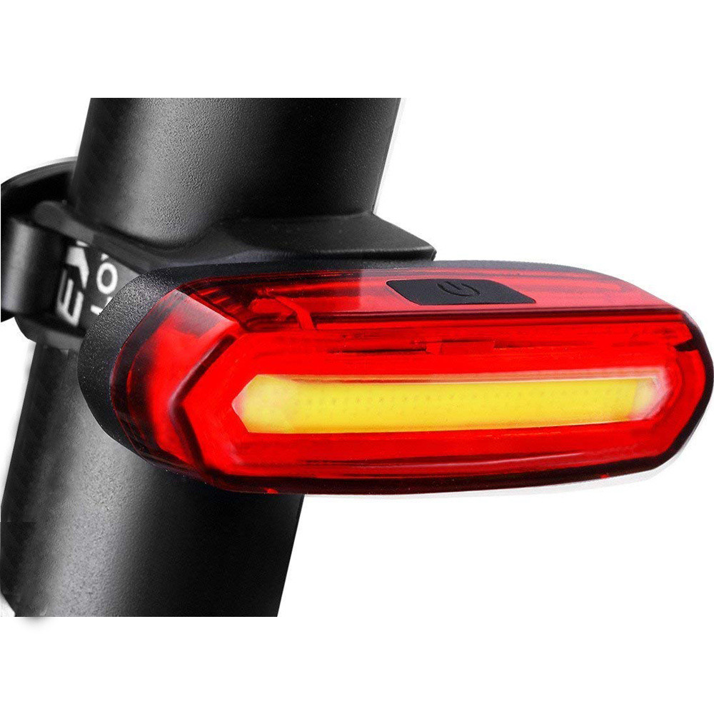 Waterproof USB Rechargeable Bicycle Tail Light Ultra Bright 6 Lighting Modes Red/White LED Light Bike Safety Flash Lamp
