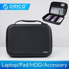 ORICO Bag Box For Macbook Air Pro 12 inch Laptop Sleeve Case SSD HDD Bag Power Bank Bag Tablet Case Cover Storage Bag With Strap