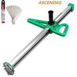ASCENDAS nowe ręczne płyty gipsowe ze stali nierdzewnej artefakt typu rolki ręczne narzędzie do cięcia płyt gipsowo-kartonowych TP-0235