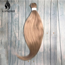 Alororo Ombre Braiding Hair Pre Stretched Synthetic Easy Hair Extension for Braids Afro 54 Colors Professional Jumbo Braid Hair