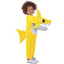 Costume de requin chompin pour enfants, Cosplay pour garçons et filles, déguisement fantaisie de fête de carnaval d'halloween