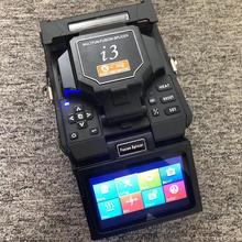 Английское меню I3 Многофункциональный волоконно-оптический сварочный аппарат/машина для сращивания оптического волокна I3 FTTH волоконно-оптический сварочный аппарат