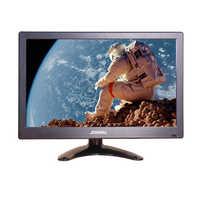 Monitor portátil de 12 pulgadas para ordenador, pantalla LCD, HDMI, VGA, USB, AV, BNC, con altavoz, vídeo de 2 canales para videovigilancia, interruptor, ps4, PC
