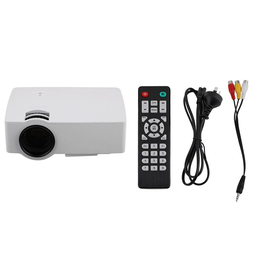 UC30 professionnel 150LUX Home TV Home cinéma projecteur LED Full HD 1080P vidéo lecteur multimédia HDMI Mini projecteur US plus