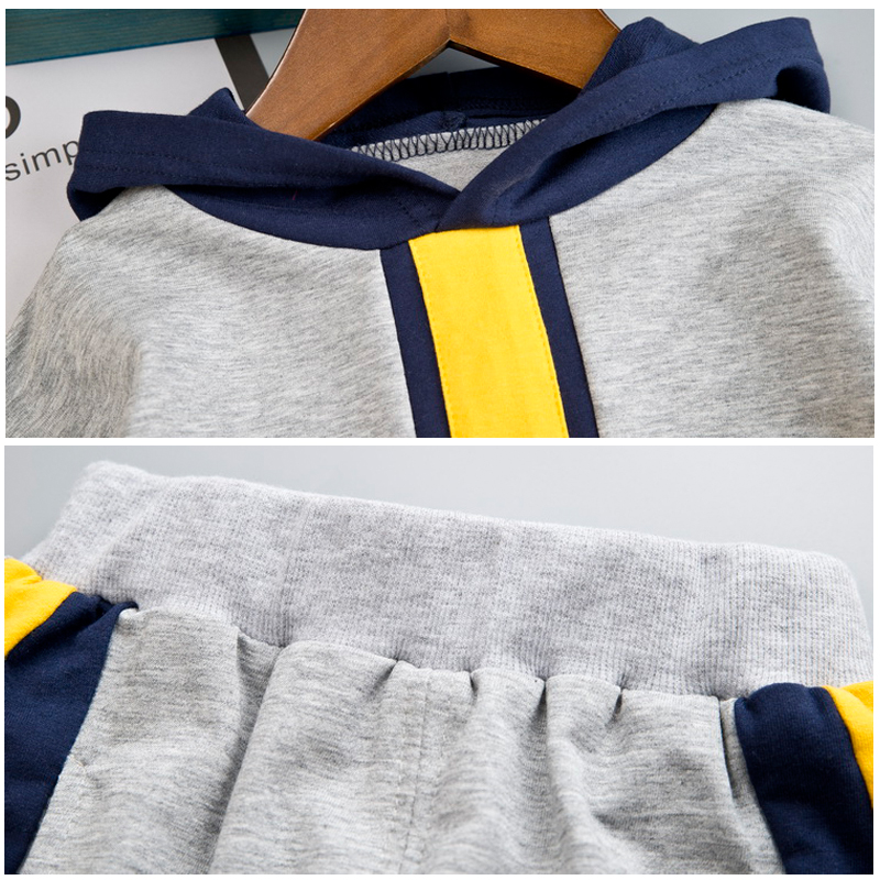 Image 5 - Kid Boy Clothes Set For Girl Casual Sportswear 2019 Fashion Patchwork Baby Boy T Shirt + Pants 1 2 3 4Y-in Clothing Sets from Mother & Kids