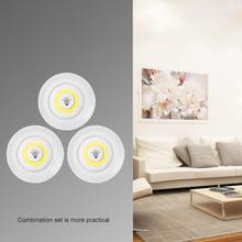 Pilot zdalnego sterowania baterie LED szafy światła bezprzewodowe przyciemniane światło LED oświetlenie podszafkowe do szafy oświetlenie łazienki tanie tanio Youool cabinet light Brak MOTION