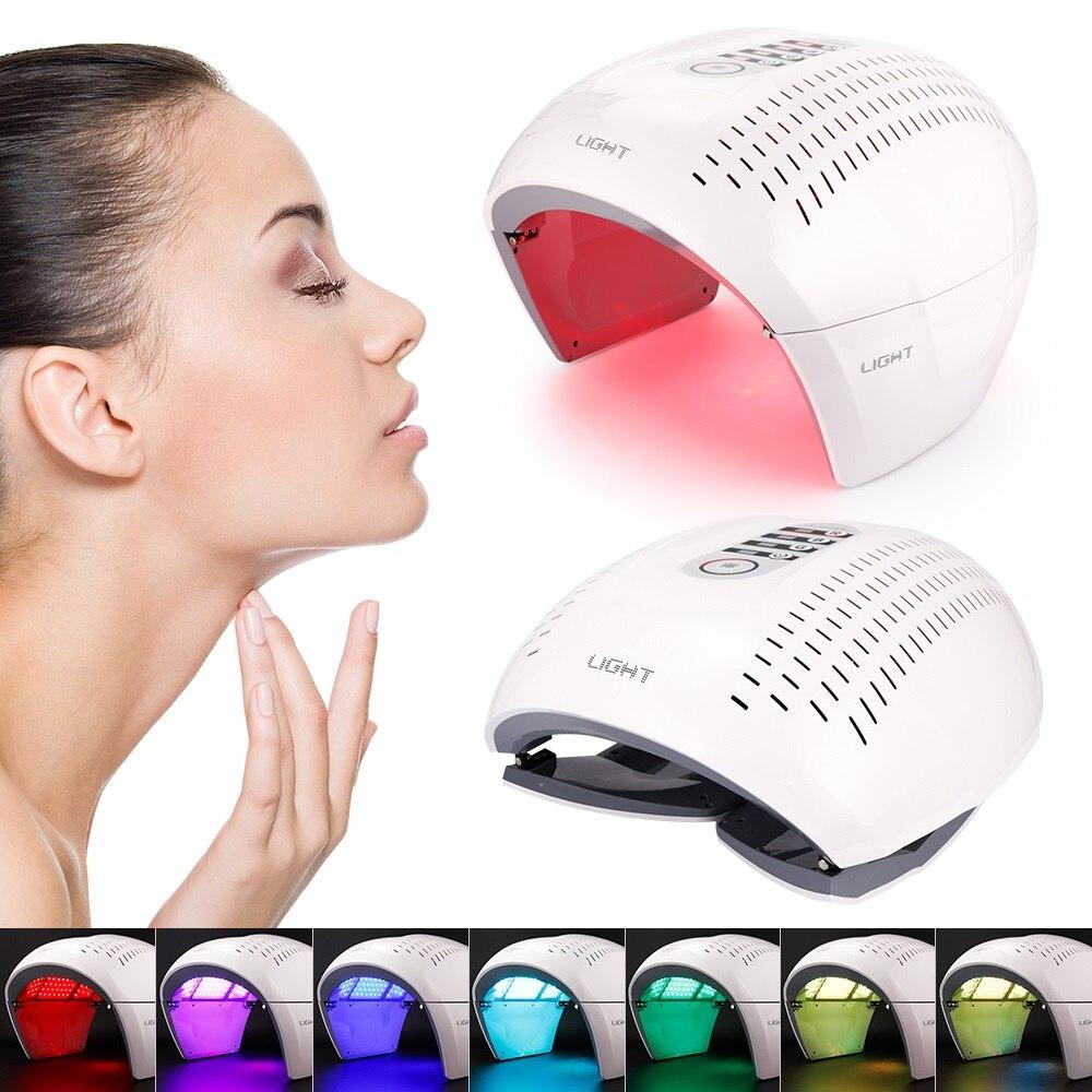 PDT LED Photon Light Therapy Lamp Facial Body Beauty SPA PDT Mask Skin Tighten Rejuvenation Wrinkle Remover Acne Device