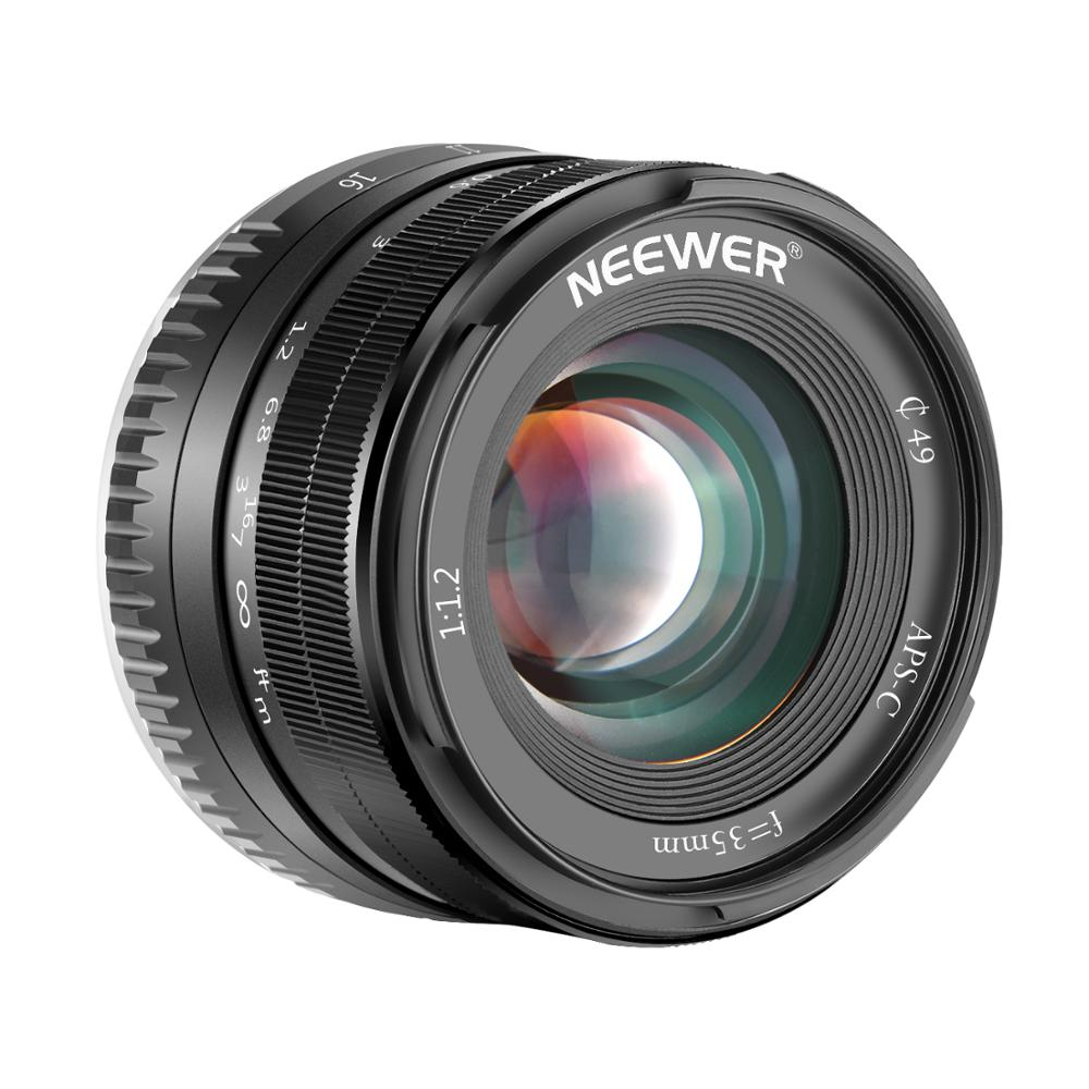 Brave Neewer 35mm F1.2 Large Aperture Prime Aps-c Aluminum Lens For Fuji X Mount Mirrorless Cameras X-a1 X-a10 X-a2 X-a3 X-at X-m1
