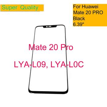 10Pcs/lot For Huawei Mate 20 Pro LYA-L09 LYA-L0C Touch Screen Touch Panel Front Outer Glass Mate 20 PRO LCD Glass Lens