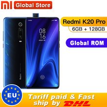 "Globale ROM Xiaomi Redmi K20 Pro 6GB 128GB Smartphone Snapdragon 855 Octa Core 4000mAh Pop up vorne 48MP Hinten Kamera AMOLED 6,39"""