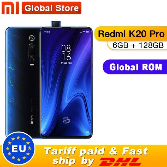 """הגלובלי ROM Xiaomi Redmi K20 פרו 6GB 128GB Smartphone Snapdragon 855 אוקטה Core 4000mAh מוקפץ מול 48MP אחורי מצלמה AMOLED 6.39"""""""