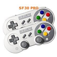 8bitdo SN/SF30 Pro Gamepad Pour Nintendo Switch Windows MacOS Android Contrôleur Joystick Vibration Contrôleur Sans Fil de Bluetooth