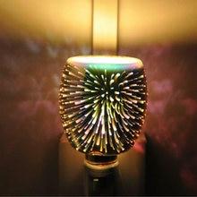3d стеклянный волшебный Ночной светильник аромадиффузор Электрический