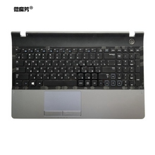 Russian For Samsung 300E5A NP300E5A 305E5A 300V5A 305V5A 300E5C Replace laptop keyboard with C shell Black New RU for samsung keyboard 670z5e 680z5e c shell shell top page 3