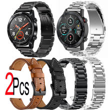 Кожаный ремешок для часов huawei watch gt 2e 2 46 мм pro honor
