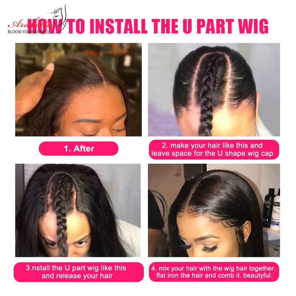 Water Wave U Part Wig   Headband Wig  ARABELLA Hair Glueless Wig Headband Wig  6