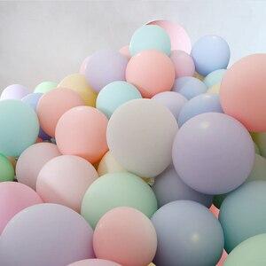 Image 3 - 20pcs Macaron Balloon 1st Happy Birthday Decorations First Birthday Boy Girl Party Kids Adult Baby One Year Birthday Decor 21 40