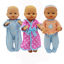 Nouveau loisirs 3 pièces/ensemble pyjamas vêtements ajustement 35 cm Nenuco poupée Nenuco y su Hermanita poupée accessoires