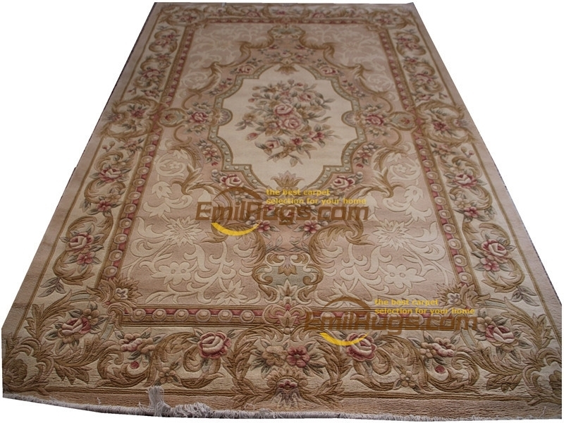 European Carpet For Living Room French About Hand-knotted Thick Plush  6.56' X 9.84'