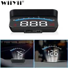 Auto Electronics Projector-Display Windshield Security-Alarm Overspeed Wiiyii Hud OBD2