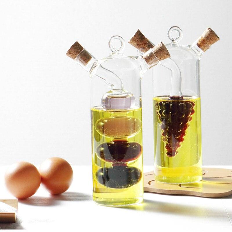 pot en verre de sauce soja et vinaigre vinaigre de cruet bouteille d huile bouteille d huile et vinaigre pot d assaisonnement fournitures de cuisine