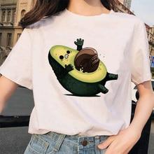 BTFCL Avocado T Shirt Women Harajuku Kawaii 90s Femme Vegan Streetwear Tshirt Stranger Things Camisetas Verano Mujer 2019