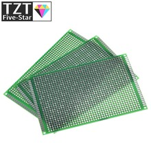 8x12cm 80x120 mm Double Side Prototype PCB Universal Printed Circuit Board Protoboard For Arduino