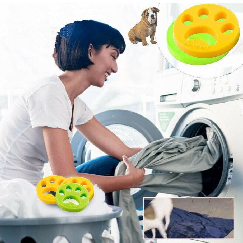 Ловец шерсти для домашних животных, кошка, собака, мех, шерсть, Ловец для уборки одежды, сушилка для стирки, средство для удаления шерсти с чистым шариком