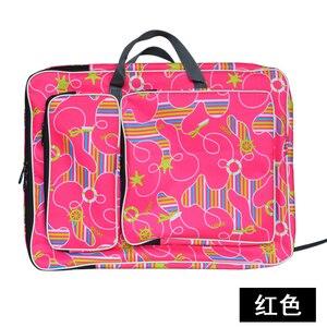 Image 1 - A3 Fashion Waterproof Drawing Set Art Bag Sketch Pad Drawing Kit 8K  Painting Bags for Kids