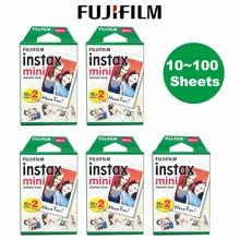 Fujifilm Instax Mini Film 10 20 30 40 50 60 80 100 Feuilles 3 pouces Pour mini 9 Polaroid FUJI Instantané Caméra Photo Mini 9 8 7s 70 90