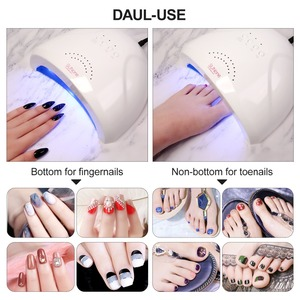 Image 2 - Modelones Lamps For Nails UV Nail Dryer Lamp UVLED 48W SUNONE Manicure UV Lamp For Manicure Gel Varnish Drying  Nail Gel Polish