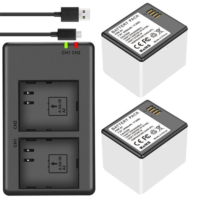 עבור Arlo פרו או פרו 2 מצלמה vma4400 Netgear A 1 סוללה או ערוץ כפול מטען