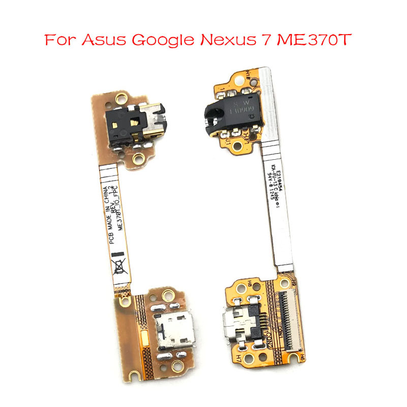 For Asus Google Nexus 7 ME370T Dock Connector Micro USB Charger Charging Port Flex Cable Microphone Board
