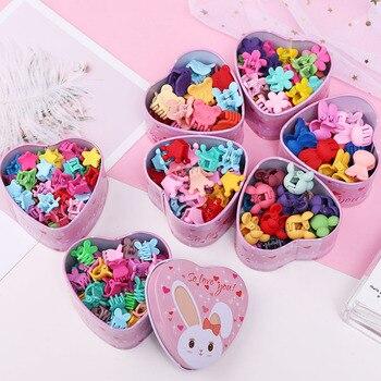 15pcs/Set Girls Cute Colorful Cartoon Small Hair Claws Lovely Children Gifts Hair Clips Headband Kids Fashion Hair Accessories