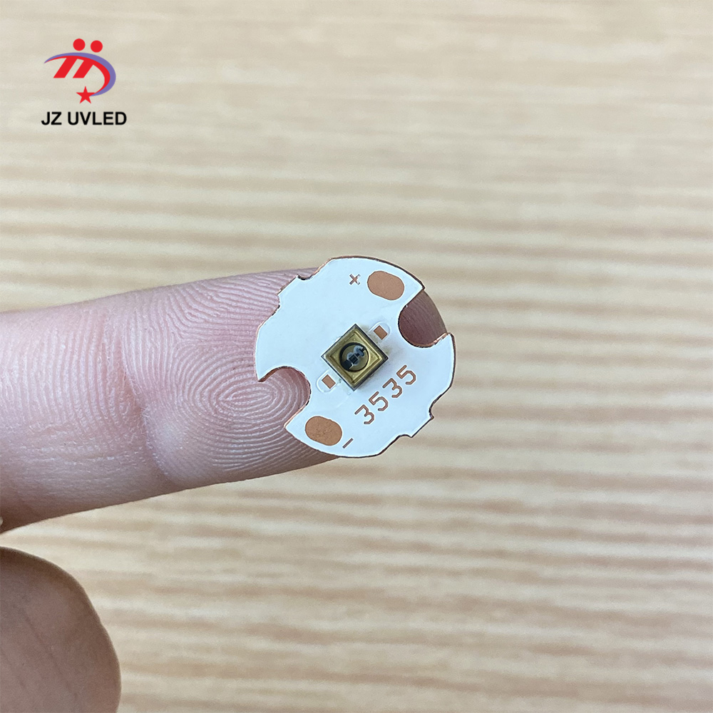 5pcs Of 275nm UVC LED Lamp Beads For UV Disinfection Equipment 265nm 285nm SMD 3535 Chip LED Deep Violet Ultraviolet Light 6V