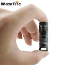 Super Kleine Lantaarn Pocket Mini Led Zaklamp Usb Oplaadbare Draagbare Waterdichte Wit Licht Sleutelhanger Torch Door 10180 Batterij