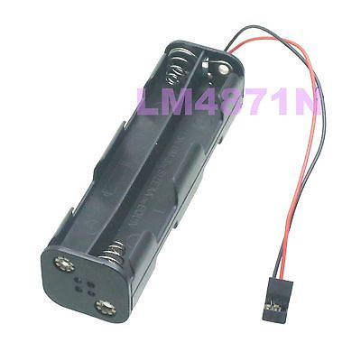 DHL/EMS 50 LOTS 8 X AA Battery Box Transmitter Radio Case 12v W/ JR FUTABA Plug Hitec TX RC -d2