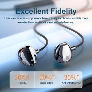 Image 3 - 重低音タイプcサムスンxiaomi redmi 3.5 ミリメートルジャック耳耳電話ヘッドセットマイクボリューム制御typecイヤホン