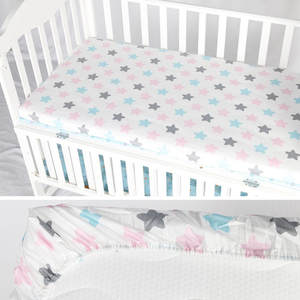 Fitted-Sheet Protector Mattress-Cover Crib Allow Custom-Make Baby Newborns Cotton Children