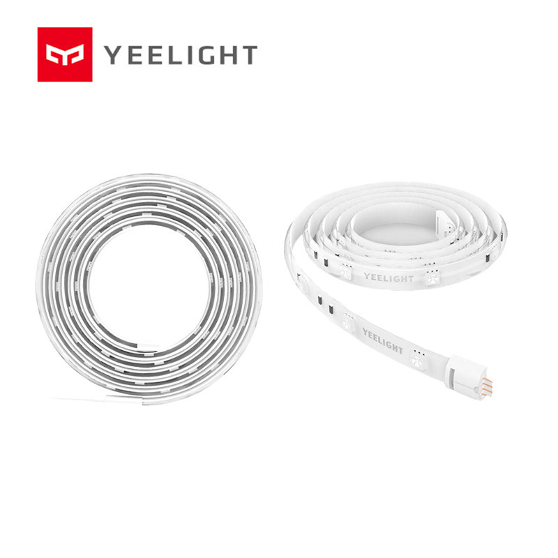 Yeelight Smart Light Strip PLUS 1m Extendable LED RGB Color Strip Lights Work Alexa Google Assistant smart Home Automation