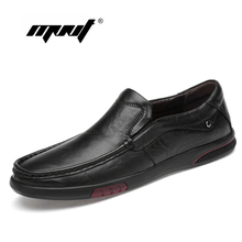 Natural Leather Men Casual Shoes Comfort Slip On Loafers Moccasins Breathable Driving Flats Shoes Men Zapatillas Hombre цена