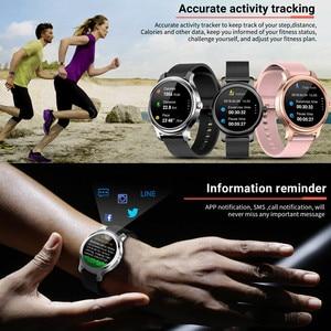 Image 5 - R2 Smart Horloge Mannen Vrouwen 1.28 Tastbaar Display Bluetooth Call Hartslag Bloeddrukmeter Sport Smartwatch Paar Horloge